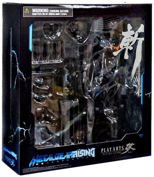 Metal Gear Solid Metal Gear Rising Revengeance Play Arts Kai Raiden Action Figure