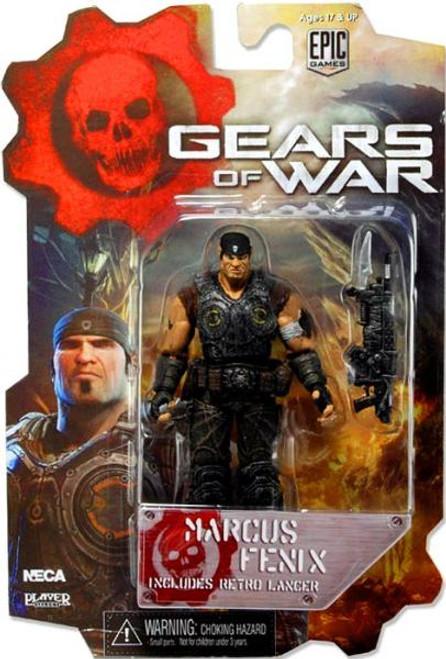 NECA Gears of War 3 Series 1 Marcus Fenix Action Figure