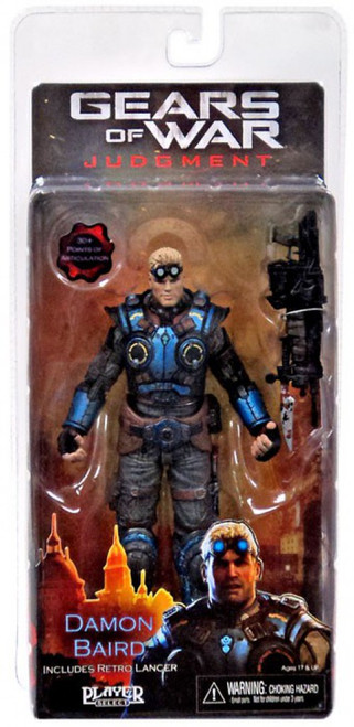 NECA Gears of War Judgment Series 1 Damon Baird Action Figure