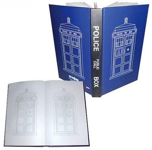 Doctor Who Tardis Police Box Journal