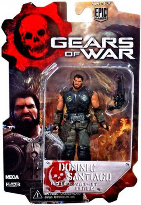 NECA Gears of War 3 Series 2 Dominic Santiago Action Figure