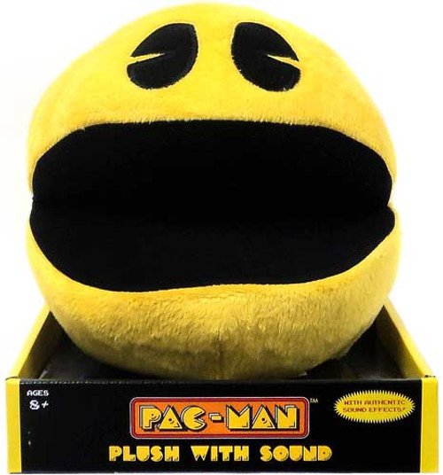 Pac Man Namco Pac-Man 9-Inch Plush [With Sound]