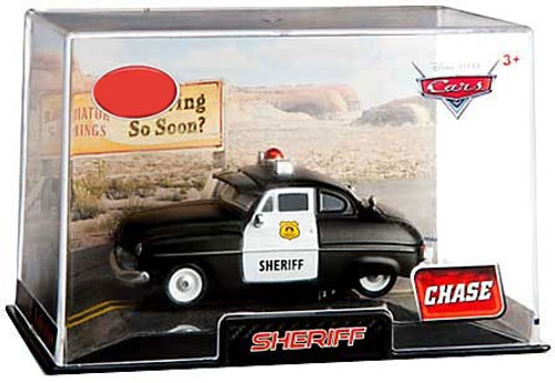 Disney Cars 1:43 Collectors Case Sheriff Exclusive Diecast Car