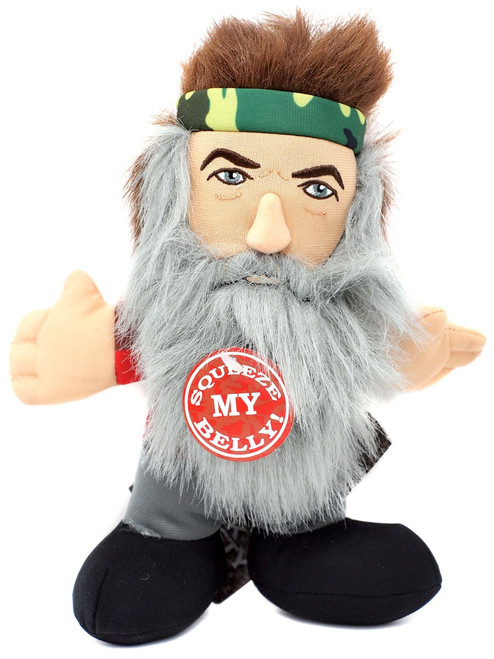 Duck Dynasty Phil 8-Inch Plush Figure [With Sound]
