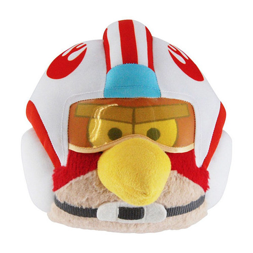 Star Wars Angry Birds Luke Skywalker Bird 8-Inch Plush [X-Wing Pilot]