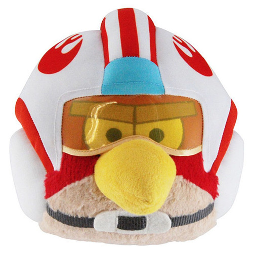 Star Wars Angry Birds Luke Skywalker Bird 16-Inch Plush [X-Wing Pilot]
