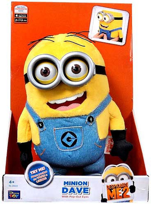 Despicable Me 2 Minion Dave Plush Figure