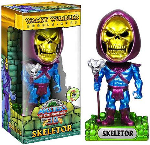 Funko Masters of the Universe Wacky Wobbler Skeletor Exclusive Bobble Head