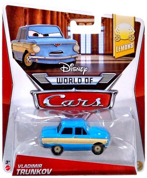 Disney Cars The World of Cars Lemons Vladimir Trunkov Diecast Car #3