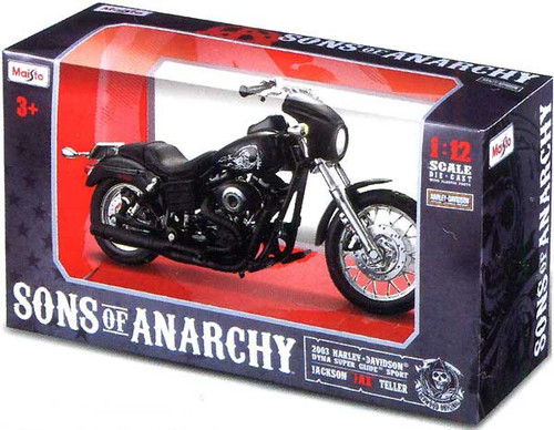 "Sons of Anarchy Jackson ""Jax"" Teller 1/12 Diecast Replica Bike"
