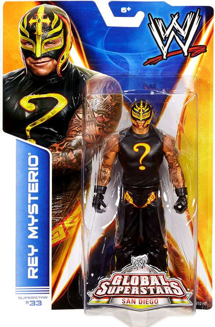 WWE Wrestling Series 40 Rey Mysterio Action Figure #33