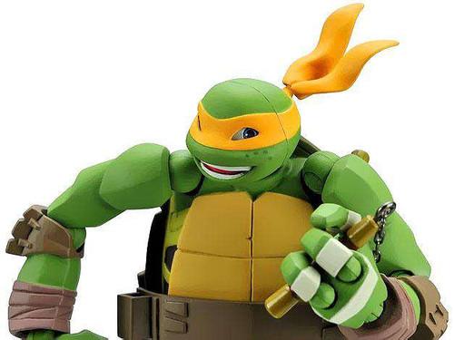 Teenage Mutant Ninja Turtles Nickelodeon Michelangelo 5 ...