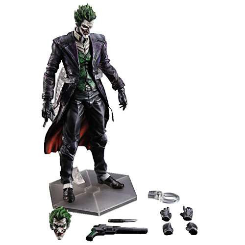 Batman Arkham Origins Play Arts Kai The Joker Action ...