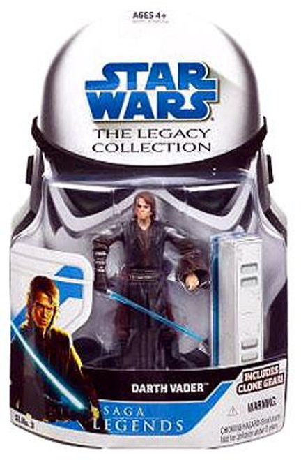 Star Wars Revenge of the Sith Legacy Collection 2008 Saga Legends Anakin Skywalker as Darth Vader Action Figure
