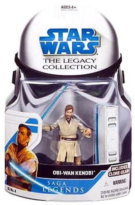 Star Wars Revenge of the Sith Legacy Collection 2008 Saga Legends Obi-Wan Kenobi Action Figure SL04