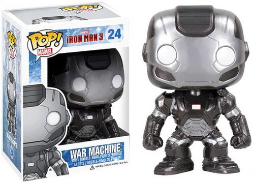Iron Man 3 Funko POP! Marvel War Machine Vinyl Bobble Head #24