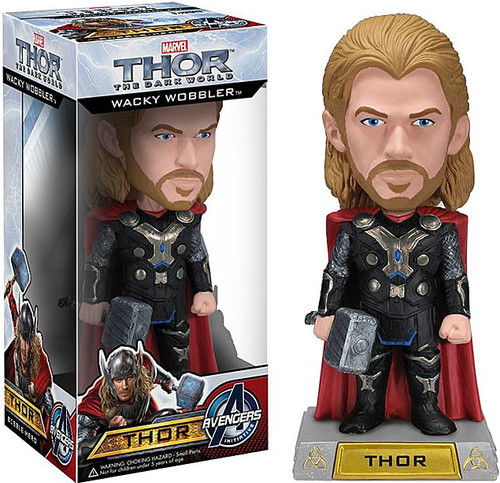 Funko The Dark World Wacky Wobbler Thor Bobble Head [The Dark World]