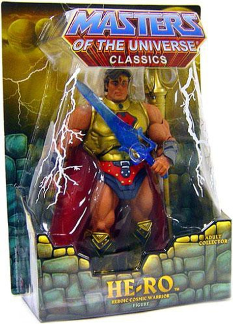 Masters of the Universe Classics Club Eternia He-Ro Exclusive Action Figure [Random Stone, SDCC 2009]