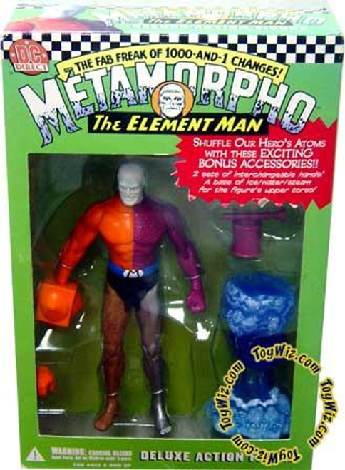 DC Metamorpho the Element Man Action Figure