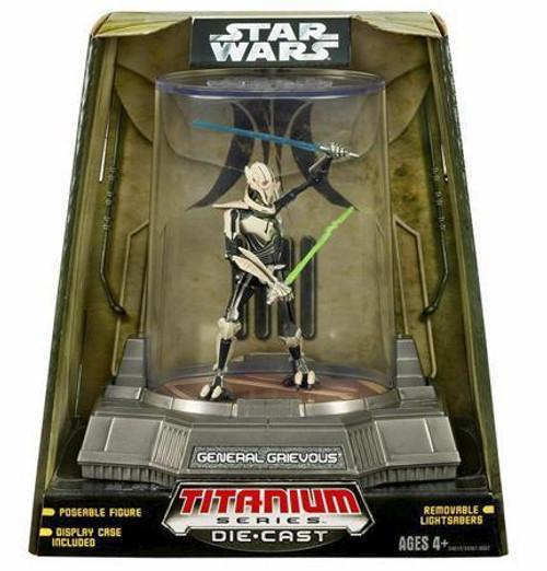 Star Wars Revenge of the Sith Titanium Series 2007 General Grievous Diecast Figure