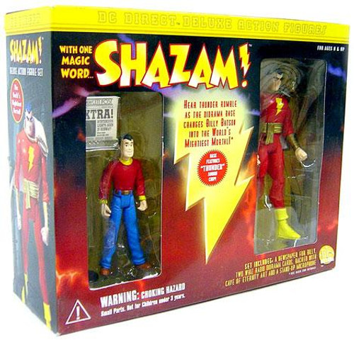 DC Billy Batson & Shazam! Action Figure 2-Pack
