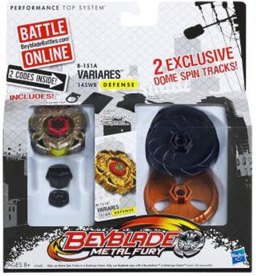 Beyblade Metal Fusion Variares Exclusive Single Pack B-151A