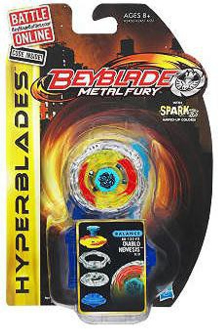 Beyblade Metal Fury Hyperblades Diablo Nemesis BB-122-FX