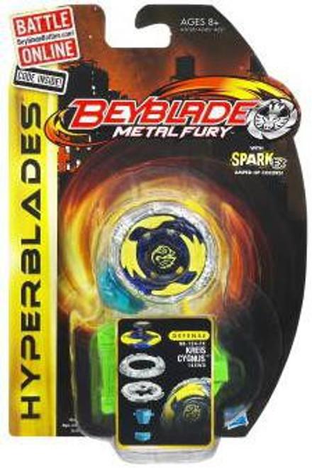 Beyblade Metal Fury Hyperblades Kreis Cygnus Single Pack BB-124-FX