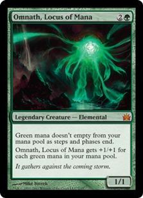 MtG From the Vault: Legends Mythic Rare Omnath, Locus of Mana #7