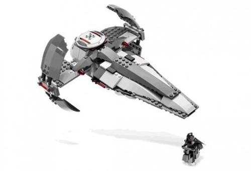 LEGO Star Wars The Phantom Menace Loose Sith Infiltrator Exclusive Set #7663 [Loose]