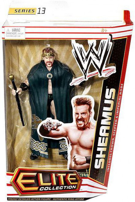 WWE Wrestling Elite Series 13 King Sheamus Action Figure [Crown, Scepter & Imperial Robe]