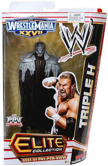 WWE Wrestling Elite Best of Pay Per View Triple H Exclusive Action Figure