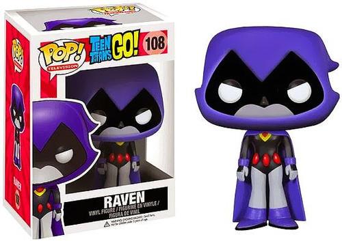 Teen Titans Go! Funko POP! Television Raven Vinyl Figure #108 [Purple]