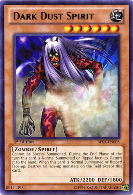 YuGiOh Battle Pack: Epic Dawn Rare Dark Dust Spirit BP01-EN005