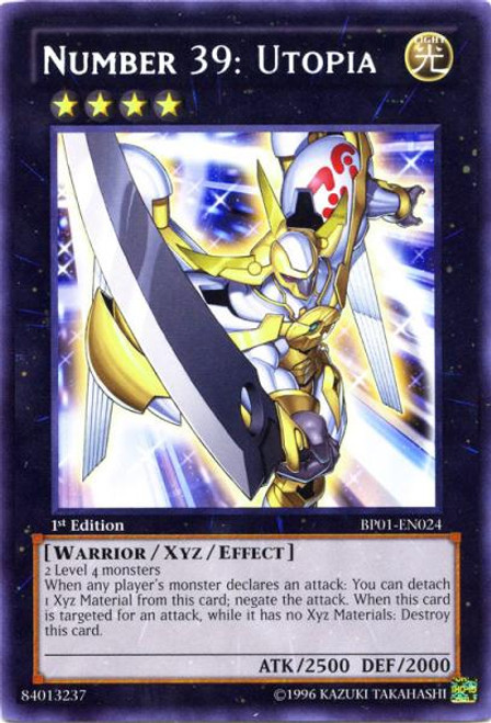 YuGiOh Battle Pack: Epic Dawn Rare Number 39: Utopia BP01-EN024