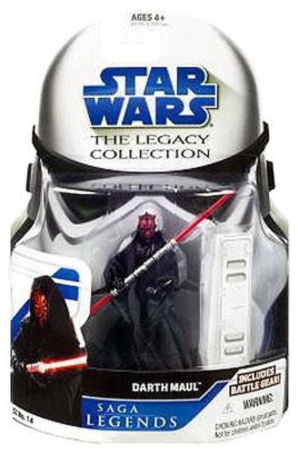 Star Wars The Phantom Menace Legacy Collection 2008 Saga Legends Darth Maul Action Figure SL14