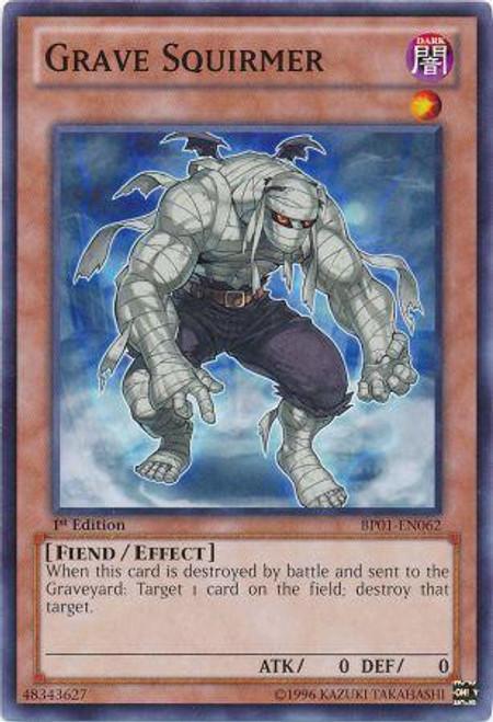 YuGiOh Battle Pack: Epic Dawn Common Grave Squirmer BP01-EN062