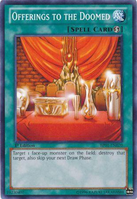 YuGiOh Battle Pack: Epic Dawn Common Offerings to the Doomed BP01-EN070