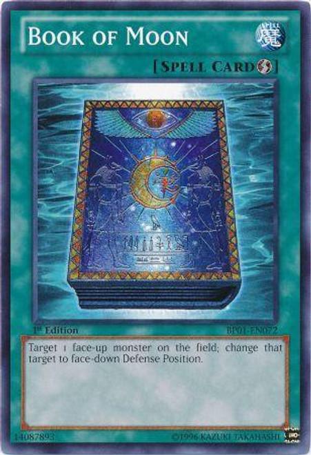 YuGiOh Battle Pack: Epic Dawn Common Book of Moon BP01-EN072