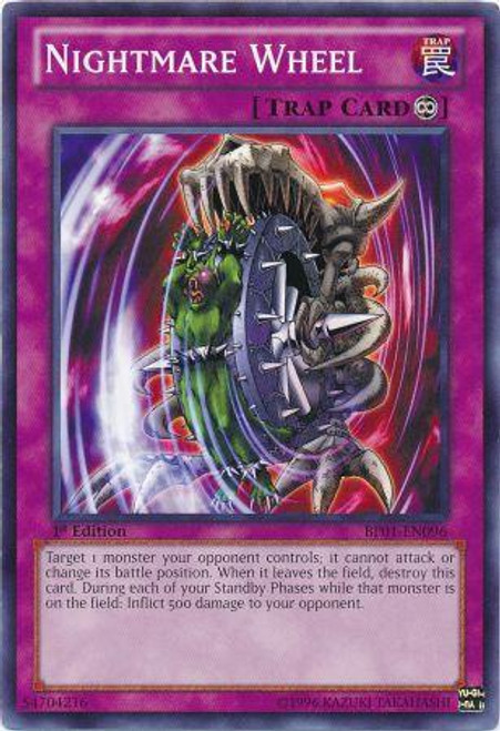 YuGiOh Battle Pack: Epic Dawn Common Nightmare Wheel BP01-EN096