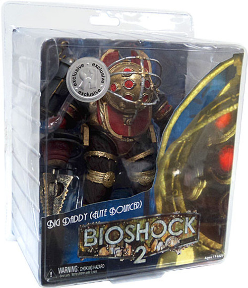 NECA Bioshock 2 Big Daddy Exclusive Action Figure [Elite Bouncer, Damaged Package]
