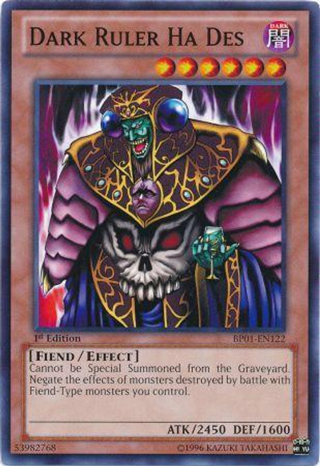 YuGiOh Battle Pack: Epic Dawn Common Dark Ruler Ha Des BP01-EN122