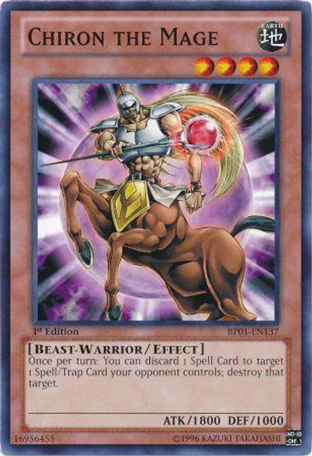 YuGiOh Battle Pack: Epic Dawn Common Chiron the Mage BP01-EN137