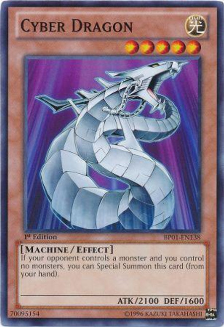 YuGiOh Battle Pack: Epic Dawn Common Cyber Dragon BP01-EN138