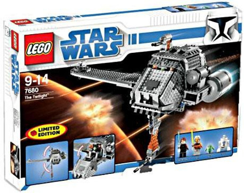 LEGO Star Wars The Clone Wars The Twilight Exclusive Set #7680