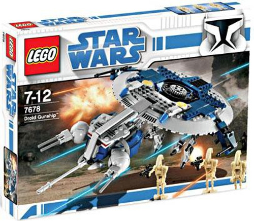 LEGO Star Wars The Clone Wars Droid Gunship Exclusive Set #7678