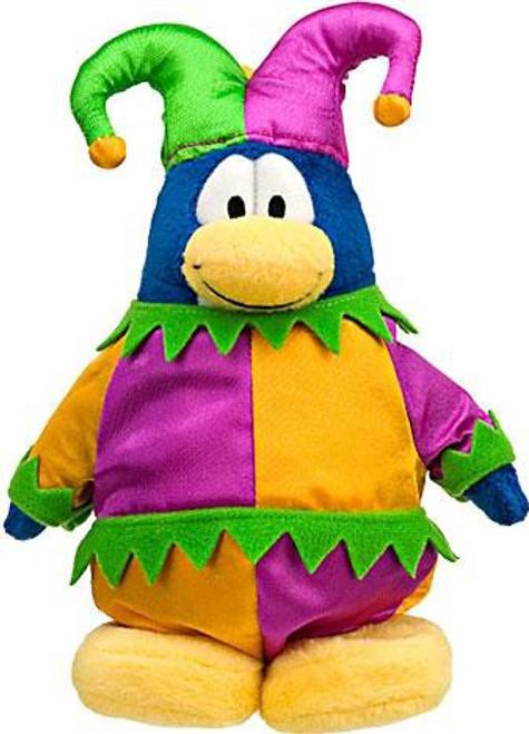 Club Penguin Series 10 Jester 6.5-Inch Plush Figure
