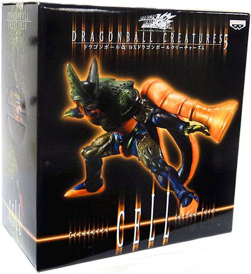 Dragon Ball Kai Creatures Collection 5 Cell Figure [Second Form]