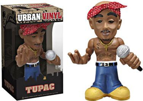 Tupac Shakur Funko Rocks Urban Vinyl Tupac 6-Inch Vinyl Figure [Damaged Package, Mint Contents]