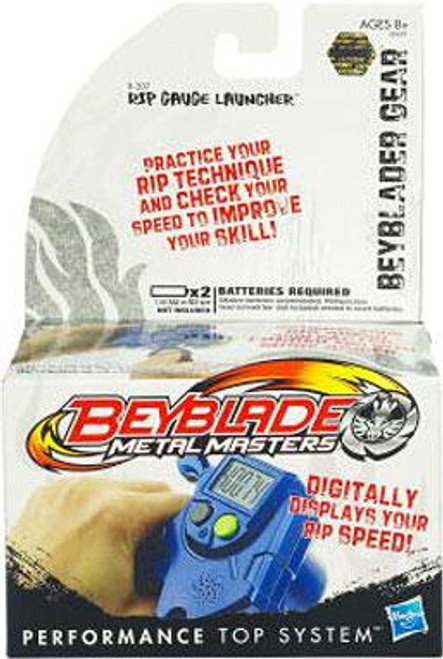 Metal Masters Beyblade Gear Rip Gauge Launcher B-207